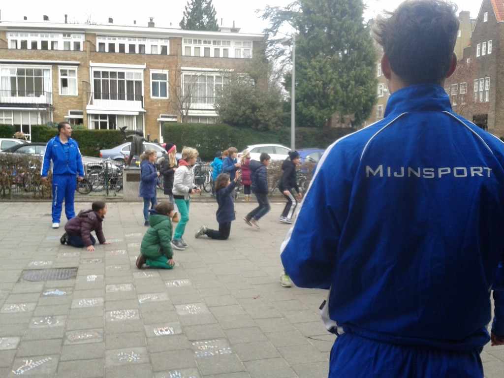 Lekker spelen op het schoolplein met Mijn Sport